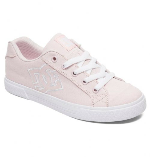 DC SHOES WOMENS TRAINERS.NEW BOXED CHELSEA TX SKATE PINK LACE UP SHOES 9S 26PNK
